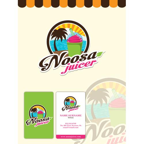 logo for Noosa Juicer