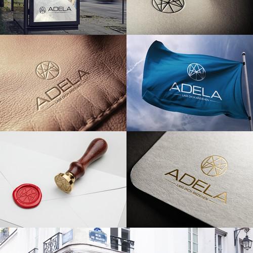 Adela Logo design