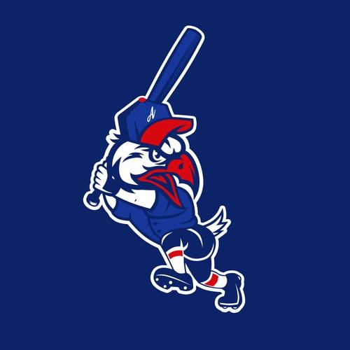 American Little League Baseball Eagle