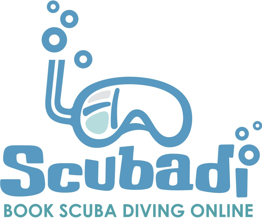 Creative logo for a scuba diving website