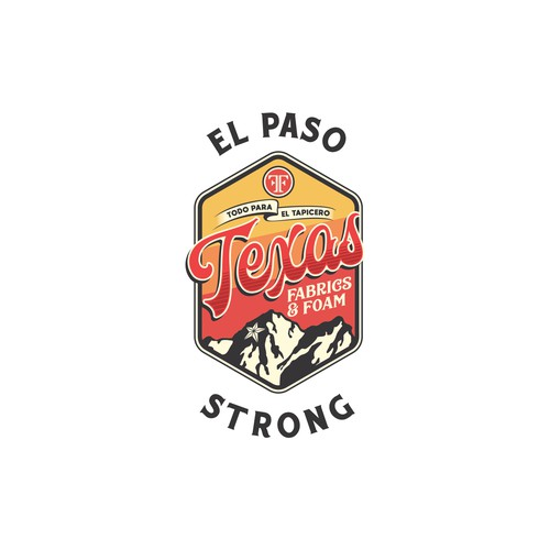 Texas El Paso Strong T-shirt