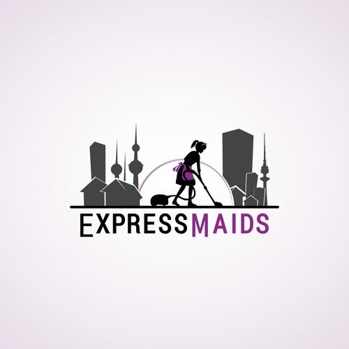 Express Maids logo