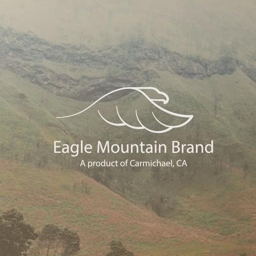 Logo concept for a honey brand