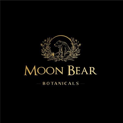 Moon Bear logo design