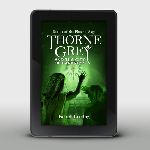 book cover for Thorne Grey