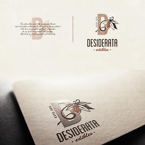 brand identity for Desiderata