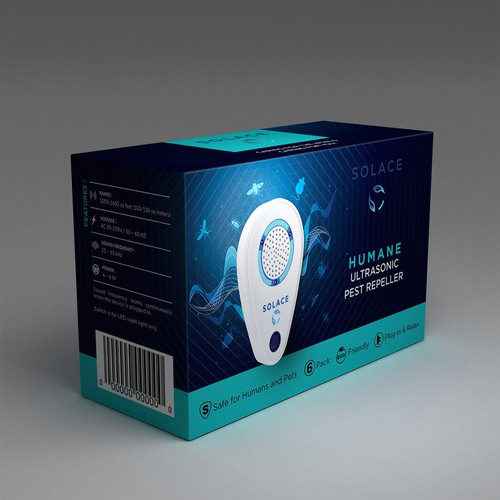 Stand out Packaging for Ultrasonic Pest Repeller!