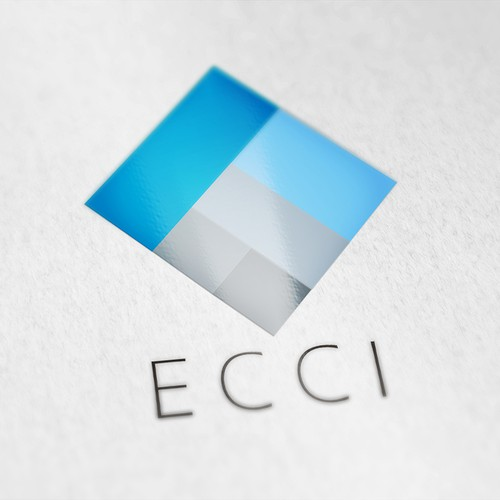 Create a modern and simple brand identity for ecci