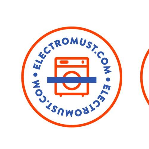 Minimalistic logo design for appliances