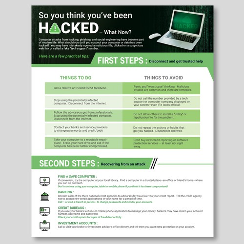 Informative Infographics for Govt. ID Theft