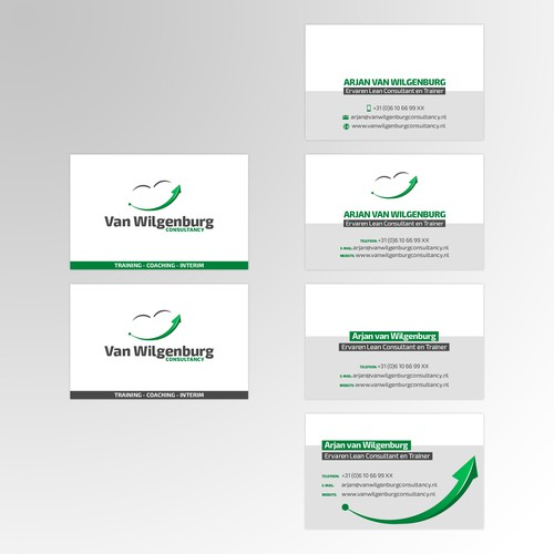 Business card en logo design