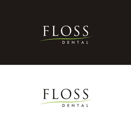 Edgy and elegant for Floss Dental