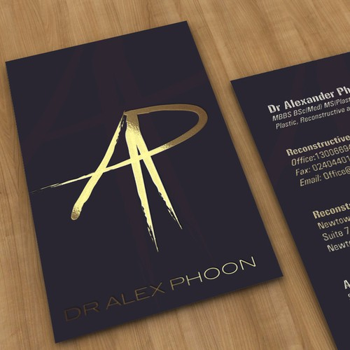 Logo and Business card for Doctor