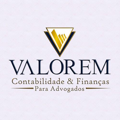 Design de logotipo Valorem - contabilidade para advogados