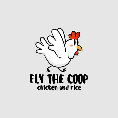 a logo for hanian chicken resto