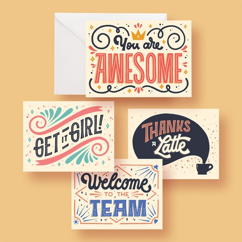 Greeting Card Set