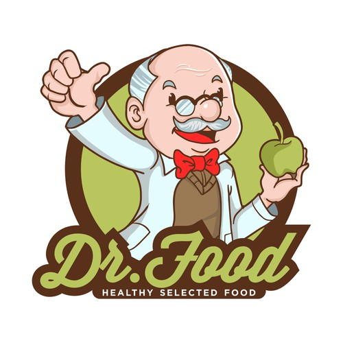 Help Dr.Food with Logo and Style Design Website