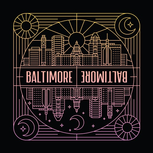 Baltimore Design Based Sticker Company