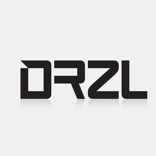 DRZL logo design