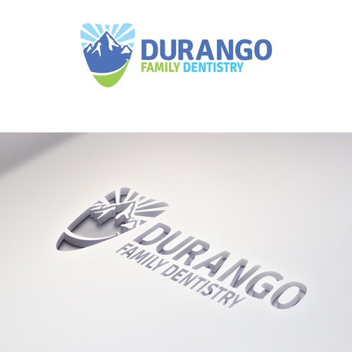 Create a logo/design for dental practice in Durango, CO.