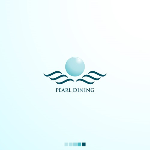 luxurious and clean logo concept