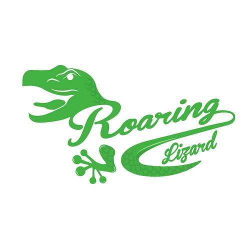 Create the next logo for Roaring Lizard