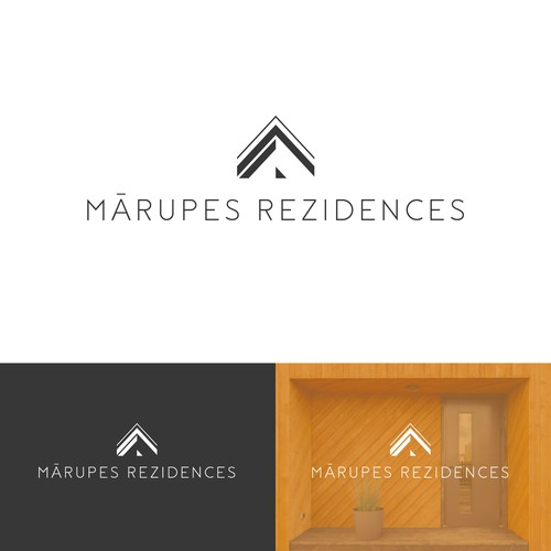 Logo for the village Mārupes Rezidences