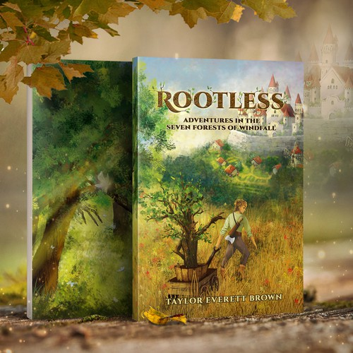"""Rootless"" - Book Cover"