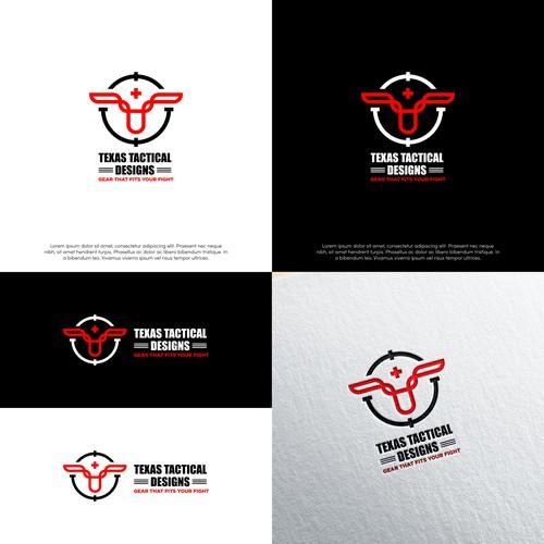 Geometric Logo for Texas Tactical Designs