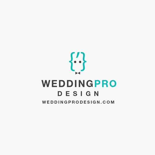 Logotype for Web Studio to develop sites for wedding services.