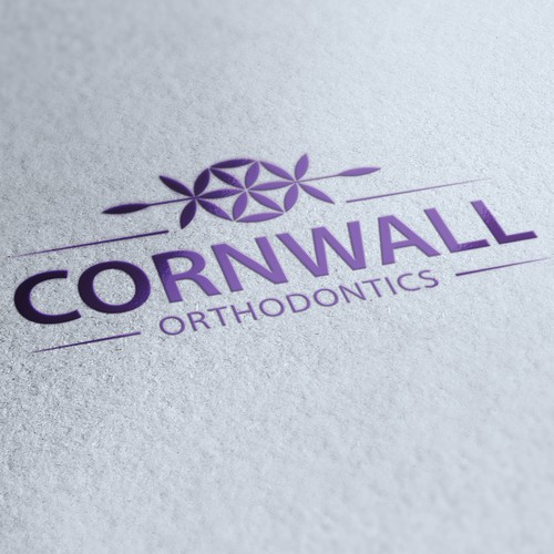 Creating an eye catching professional logo for Cornwall Orthodontics