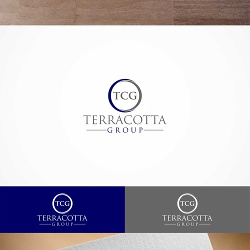 Challenge: create a grand and elegant yet understated logo for Terracotta Group
