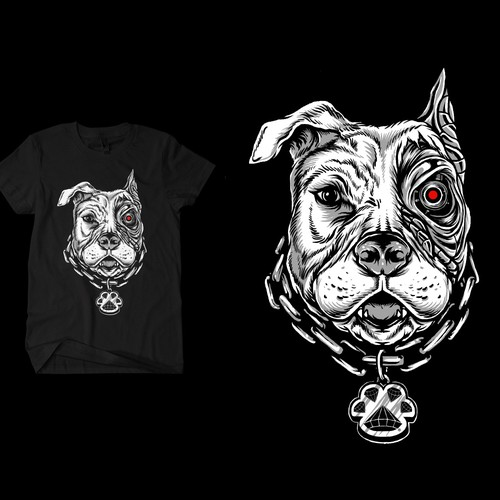 Terminator Dog T-shirt