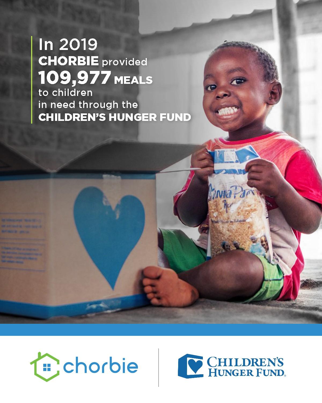 Children's Hunger Fund Poster 2019