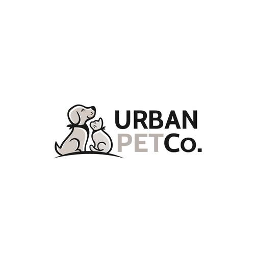 bold logo for dog company