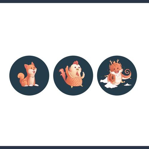 Chinese Zodiacs