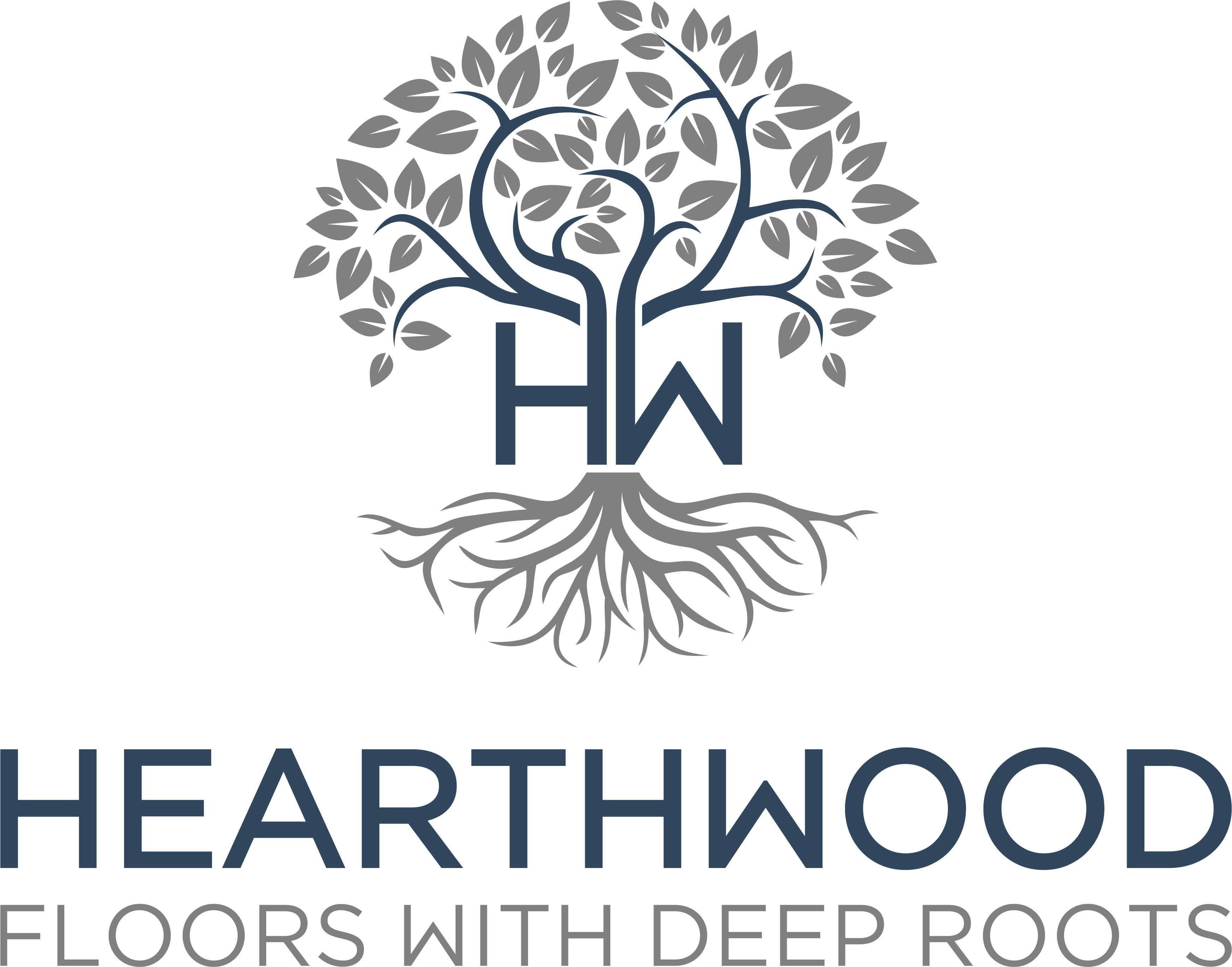"""Hearthwood - floors with deep roots"": Hardwood Flooring Consumer Brand"