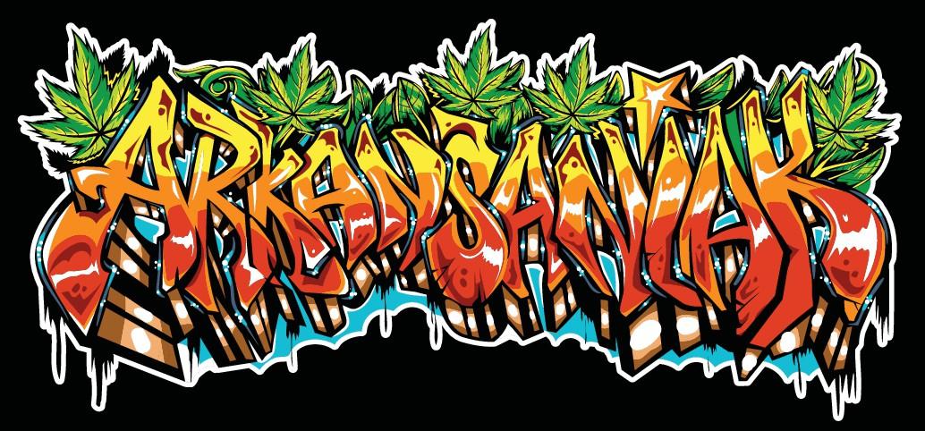 Graffiti Mountain Biking T-shirt Design
