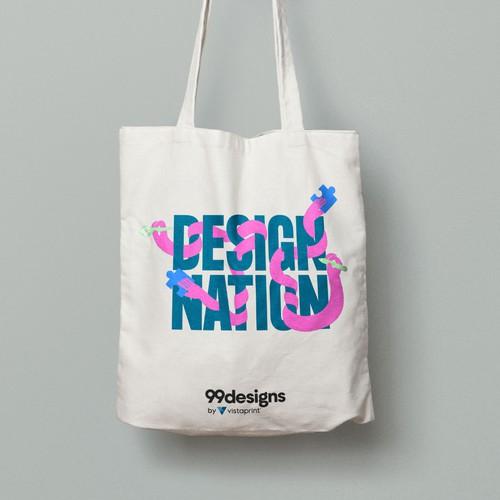 Tote Bag design for a design conference