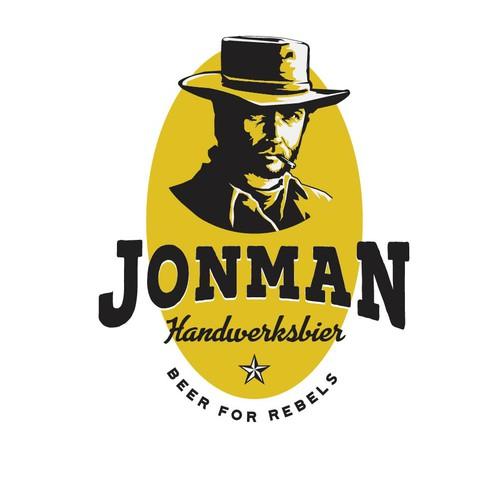 Logo for Rebels, Craft Beer logo for special beer.