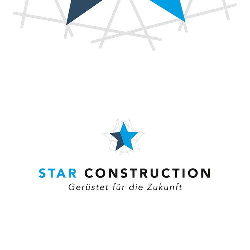 Logokonzept für Gerüstbaufirma