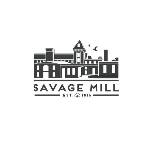 Savage Mill Logo