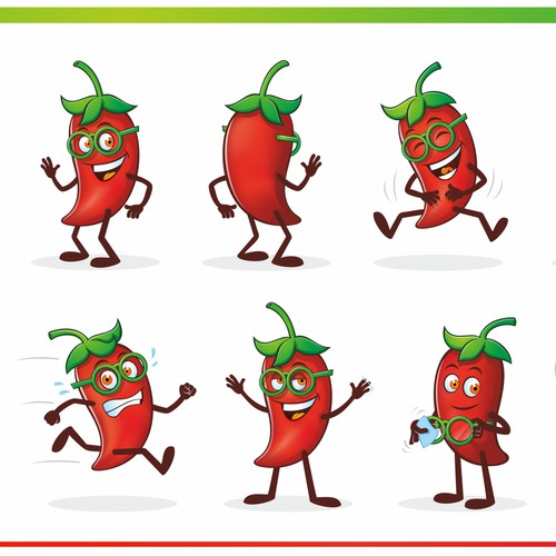 Chili Pepper Mascot