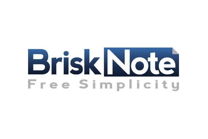 logo for Brisknote.com  or Brisk Note