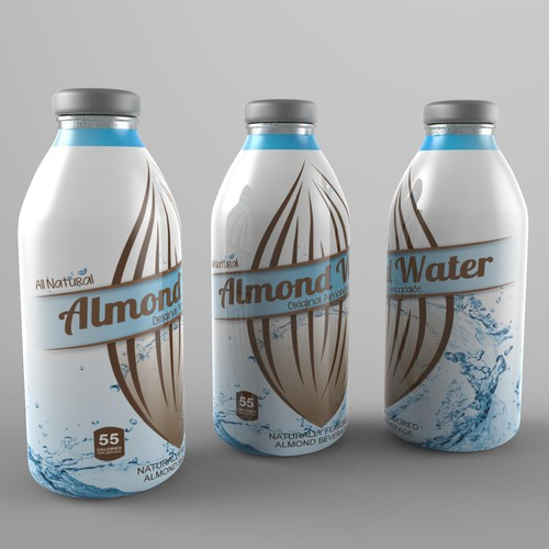 New label needed for the South American launch of our all natural beverage range - as seen on Shark Tank