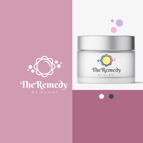 Logo for Eczema skin care brand