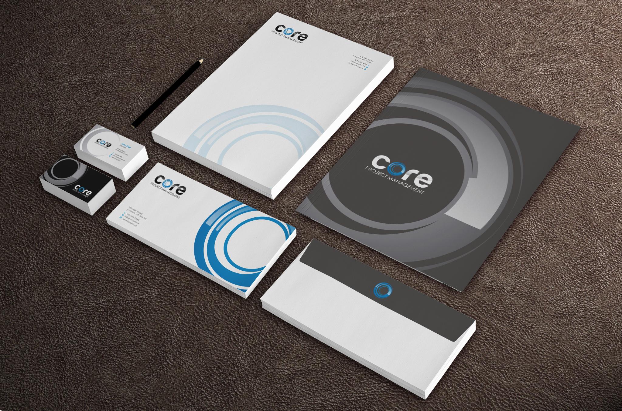 Core (~GUARANTEED~) Create a business card for a construction company!