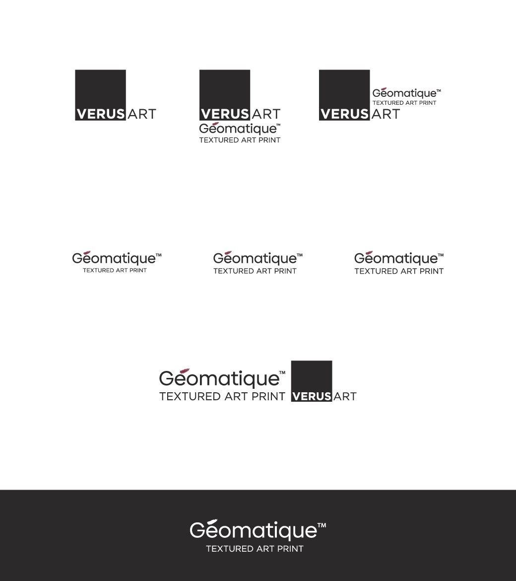 Wordmark for Innovative Textured Print Technology Set to Disrupt Art Decor Market