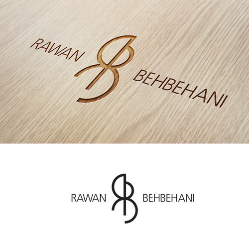 Create the next logo for rawan behbehani