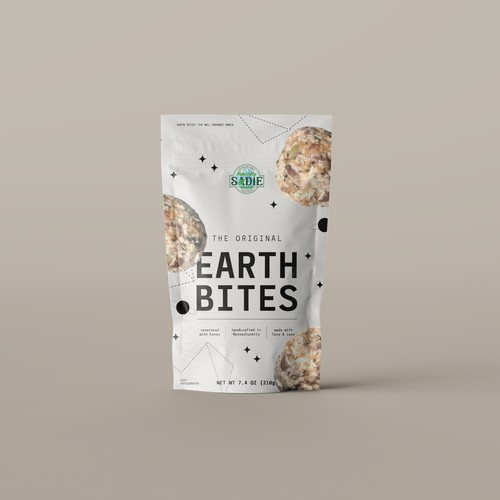 Packaging for natural snacks